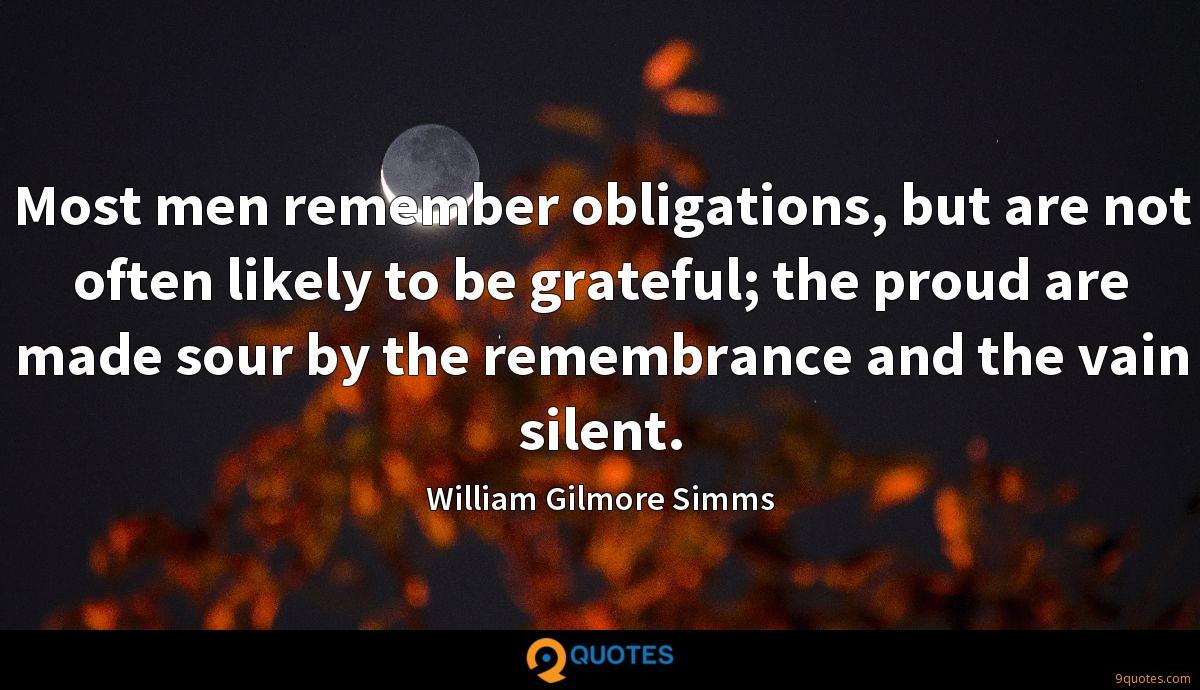 William Gilmore Simms quotes