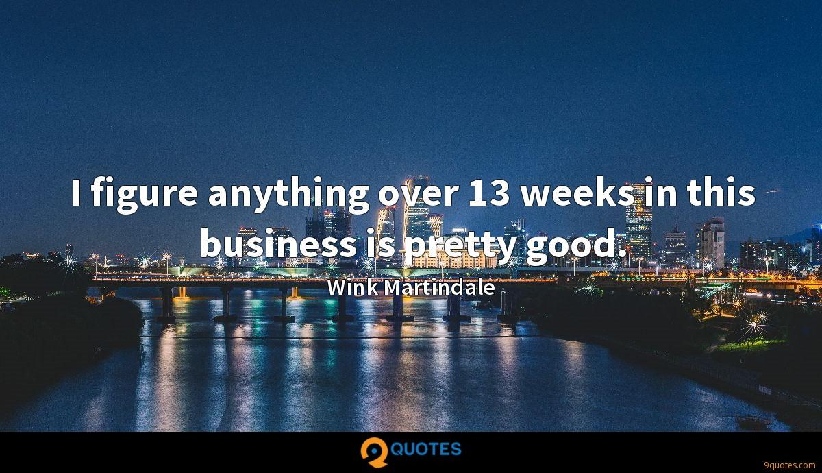 Wink Martindale quotes