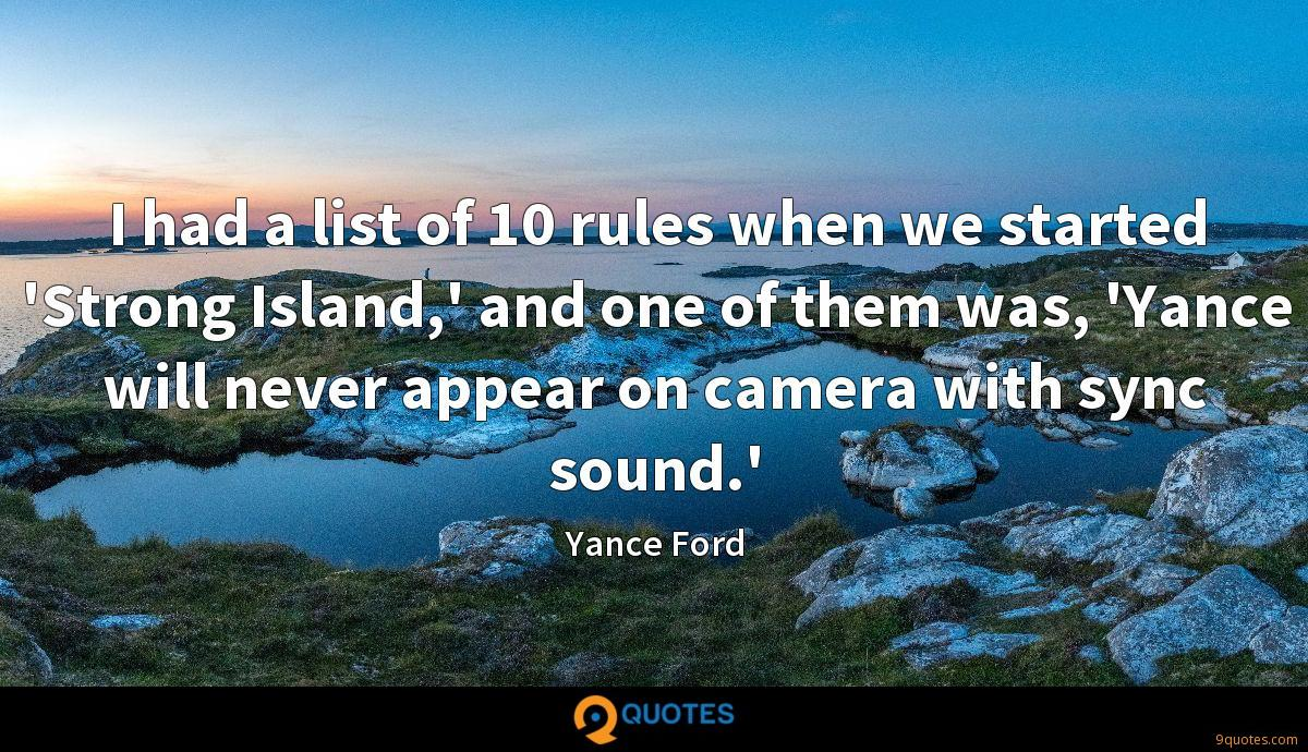 Yance Ford quotes